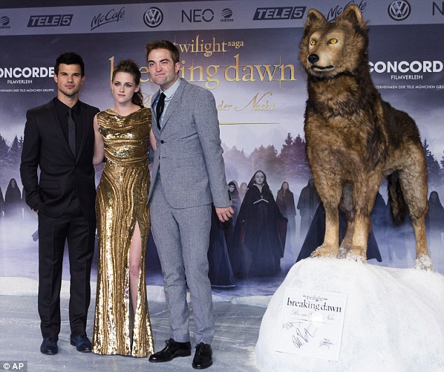 What a long week: This comes as the fourth Twilight premiere the trio have attended this week