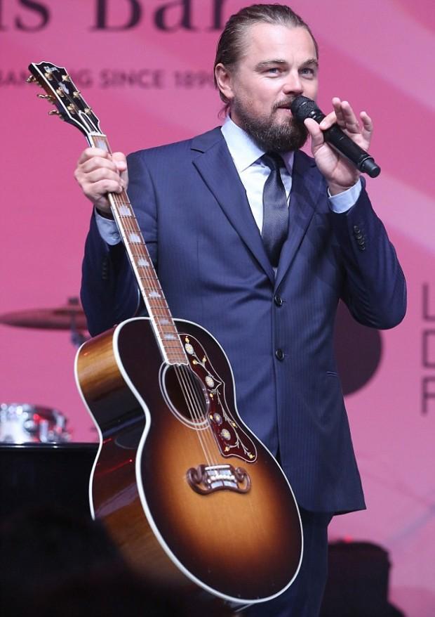 Leonardo DiCaprio Foundation Inaugurational Gala in Saint - Tropez - Dinner & Auction