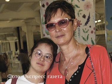 Ирина Хакамада с дочкой Машей