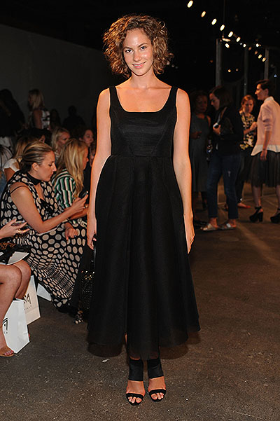 Milly By Michelle Smith - Front Row - Mercedes-Benz Fashion Week Spring 2015