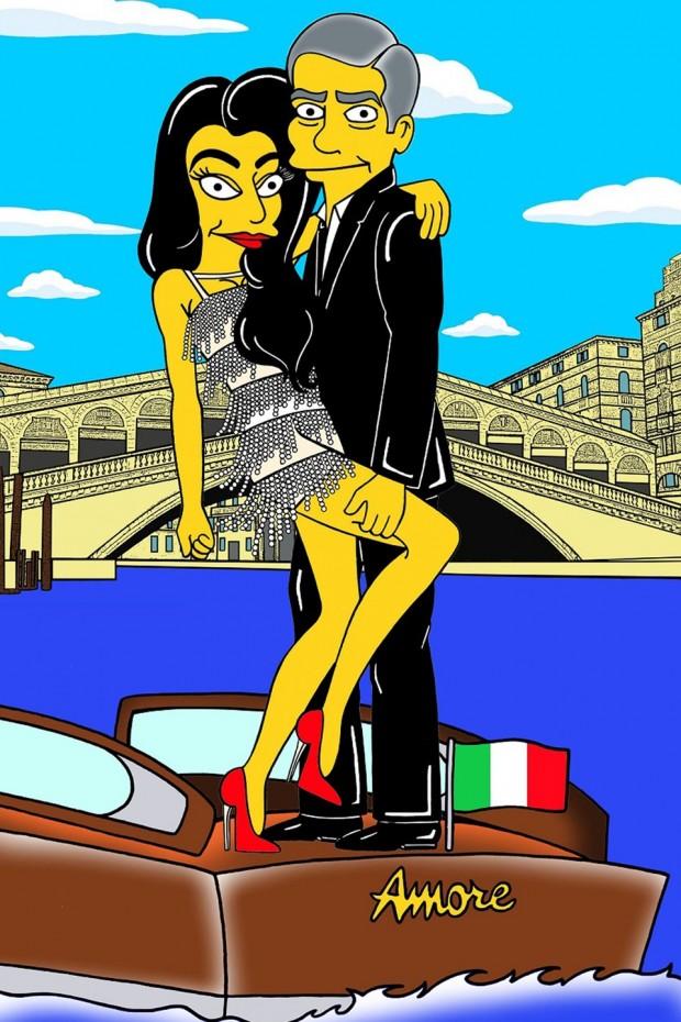 George-Clooney-Amal-Alamuddin-Simpsonized2_glamour_6oct14_aleXsandro-Palombo_b_960x1440