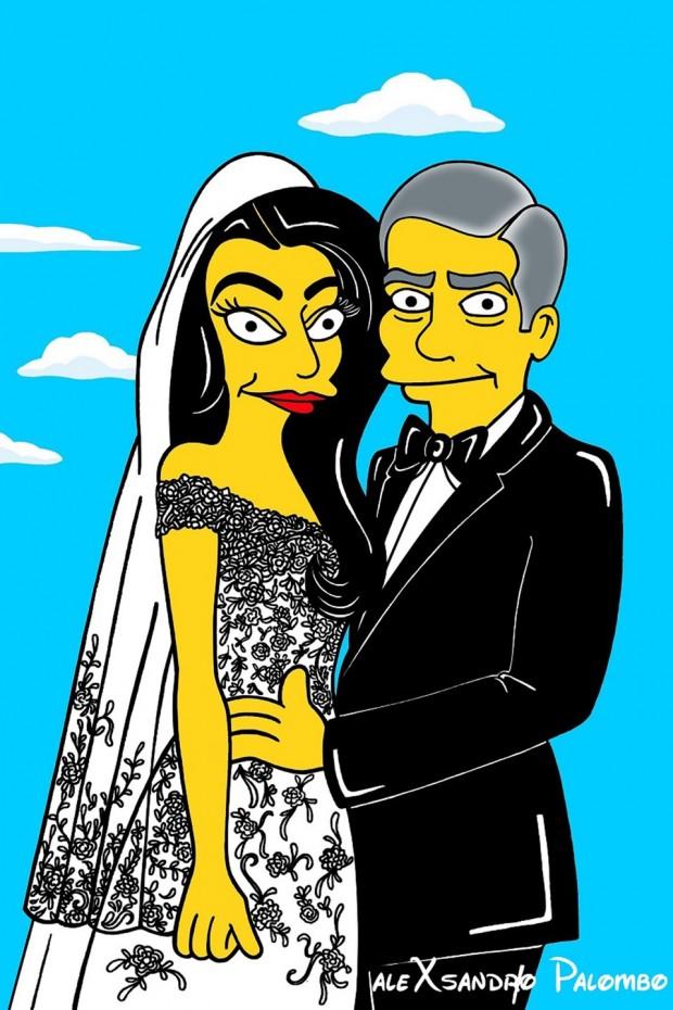 George-Clooney-Amal-Alamuddin-Simpsonized3_glamour_6oct14_aleXsandro-Palombo_b_960x1440