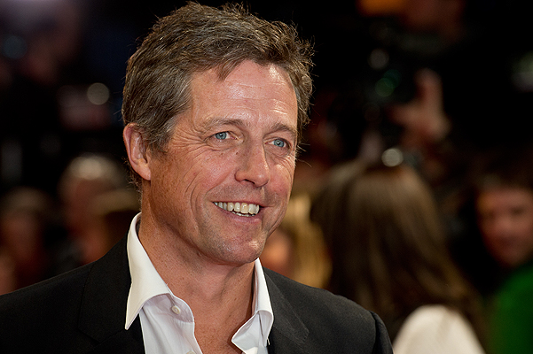 'The Rewrite' European premiere at the Kensington Odeon - Arrivals Featuring: Hugh Grant Where: London, United Kingdom When: 08 Oct 2014 Credit: WENN.com **Not available for publication in France**