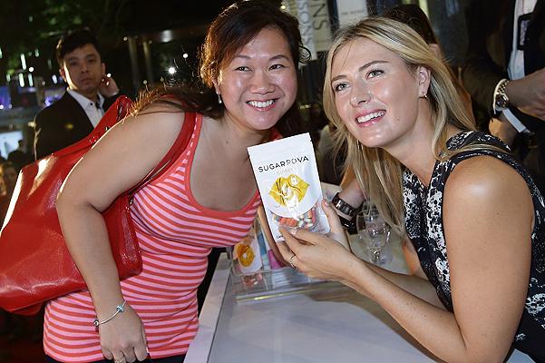 Maria Sharapova Launches 'Sugarpova' Sweets In Singapore