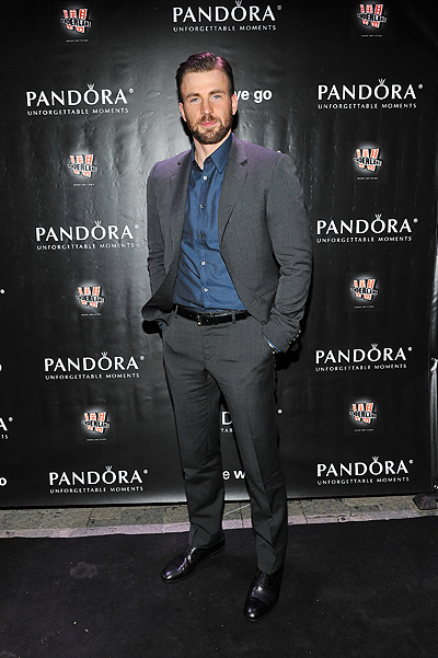 "PANDORA Jewelry Presents ""Before We Go"" Cocktail Reception With Chris Evans"