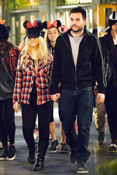 EXCLUSIVE: Christina Aguilera celebrates her birthday at Disneyland with partner Matt Rutler and friends