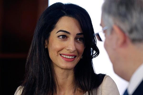 Amal Alamuddin Clooney Advises On Return Of Parthenon Marbles
