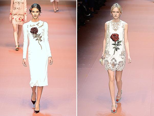 Dolce&Gabbana - Runway & Close-ups - MFW FW2015