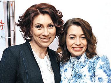 Роза Сябитова с дочкой
