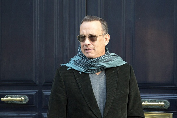 Tom Hanks Sighting In Paris - October 12, 2013