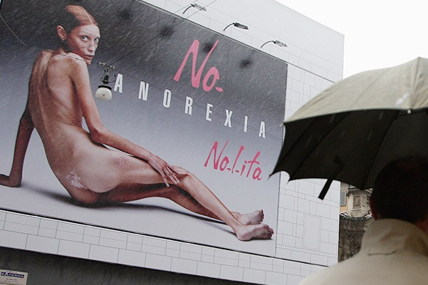 New Fashion Brand Nolita Advertising Campaign Against Anorexia
