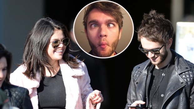 EXCLUSIVE: INF - Selena Gomez Leaves A Restaurant With New Boyfriend Zedd