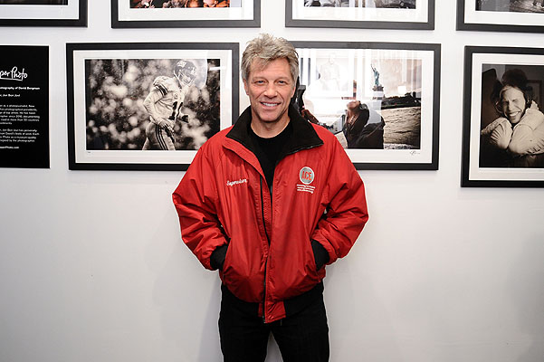 David Bergman Exhibition Opening Curated By Jon Bon Jovi