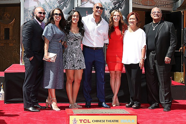"Dwayne ""The Rock"" Johnson Hand/Footprint Ceremony At TCL Chinese Theatre"