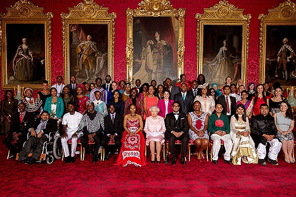 The Queen Hosts Reception To Present The Queen's Young Leaders Awards