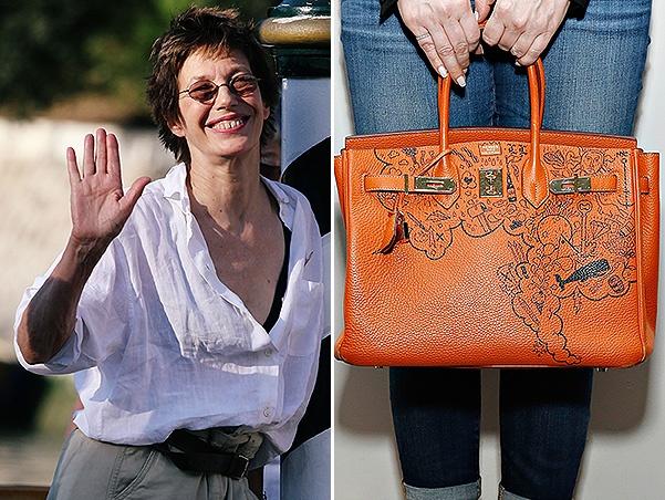 090d59bae8ad Джейн Биркин не желает, чтобы её имя было на сумках Hermès ...