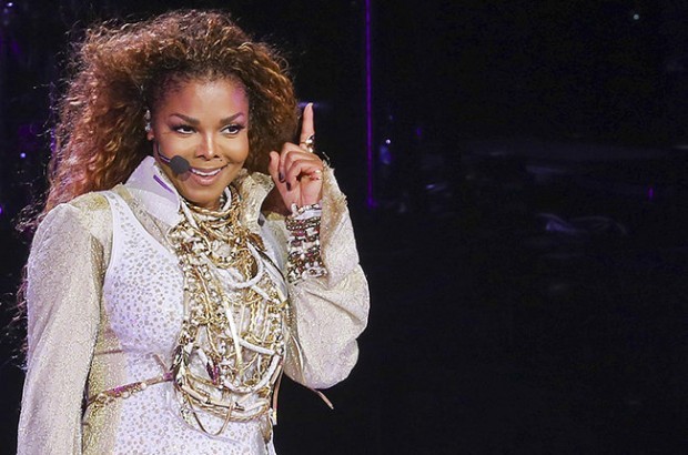 Janet Jackson kicks off the Unbreakable Tour in Vancouver, Canada on 31 August 2015. Making her triumphant return to the stage in almost five years, Janet wore an all-white ensemble with plenty of gold accessories. Going through all her hits, Janet danced around better than popstars twenty years her junior. Pictured: janet jackson Ref: SPL1108913  010915   Picture by: R Chiang / Splash News Splash News and Pictures Los Angeles:310-821-2666 New York:212-619-2666 London:870-934-2666 photodesk@splashnews.com