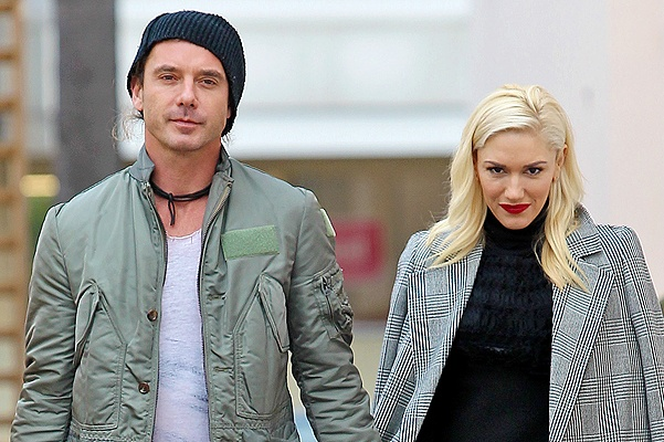 NO JUST JARED USAGE Gavin Rossdale holds hands with wife Gwen Stefani while leaving a store in Los Angeles CA. Pictured: Gavin Rossdale and Gwen Stefani Ref: SPL473695  191212   Picture by: enewsimage.com / Splash News Splash News and Pictures Los Angeles:310-821-2666 New York:212-619-2666 London:870-934-2666 photodesk@splashnews.com All Over Press