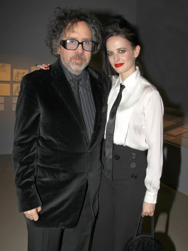 Celebrities at a private dinner celebrating the new Tim Burton Exhibition at La Cinematheque in Paris, France on March 4, 2012.<br />