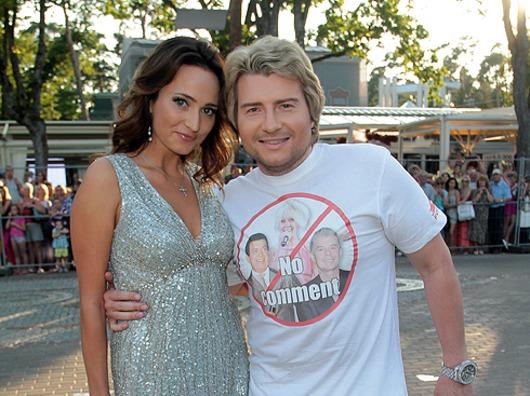 Невеста Николая Баскова взяла его фамилию