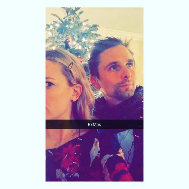 Кейт Хадсон и Мэтт Беллами провели Рождество вместе