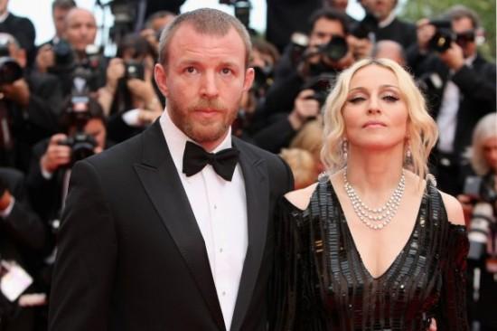 Мадонна с бывшим мужем Гаем Ричи