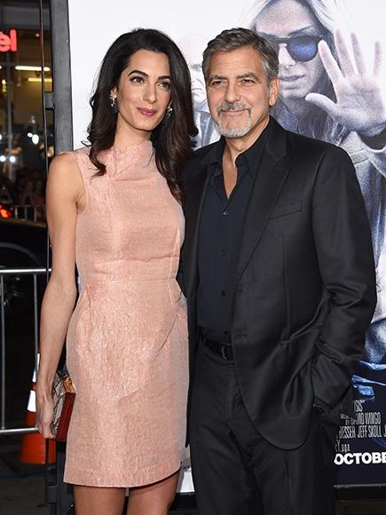 Джорджу Клуни прокомментировал новость о беременности жены
