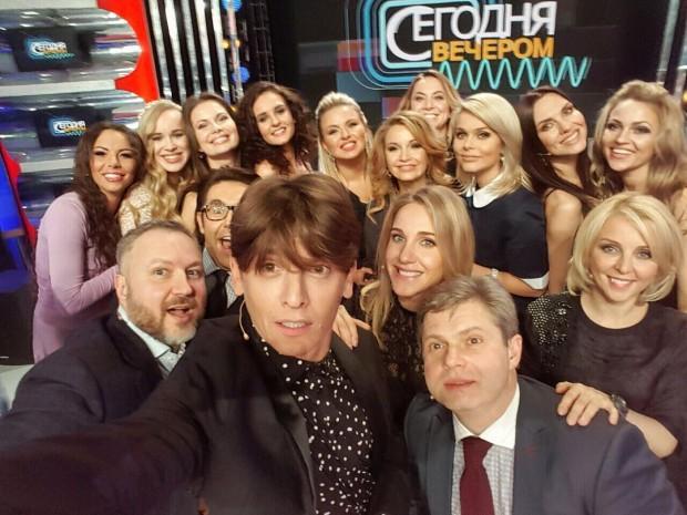 """Юлия Ковальчук собрала всех """"Блестящих"""" на одном селфи"""