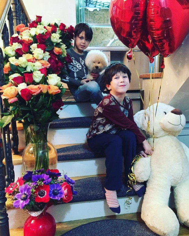 Актриса Екатерина Климова показала сыновей