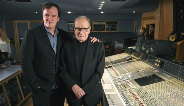 Ennio-Morricone-and-Tarantino
