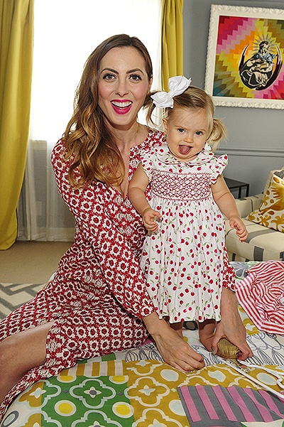 "LOS ANGELES, CA - SEPTEMBER-1: Eva Amurri Martino and daughter Marlowe Martino attend the launch of ""Happily Eva After"" presented by Hormel Gatherings¬Ѓ Party Trays on September 1, 2015 in Sherman Oaks, California.  (Photo by Amy Graves/GettyImages)"