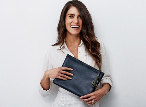 Никки Рид представила свою новую коллекцию эко-сумок