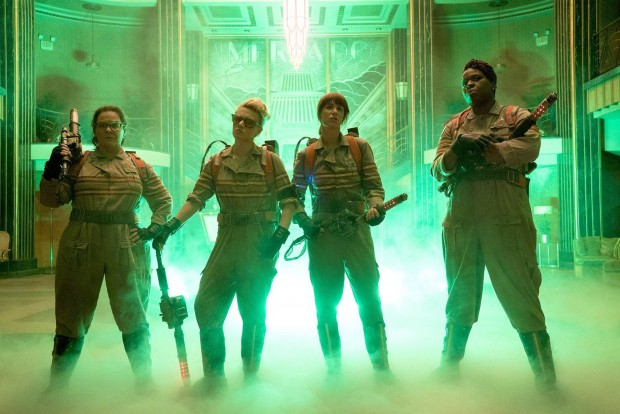 "16-12-2015 First offical look at new film ""Ghostbusters"" Pictured: Melissa McCarthy, Kristen Wiig, Kate McKinnon, and Leslie Jones PLANET PHOTOS www.planetphotos.co.uk info@planetphotos.co.uk +44 (0)20 8883 1438"