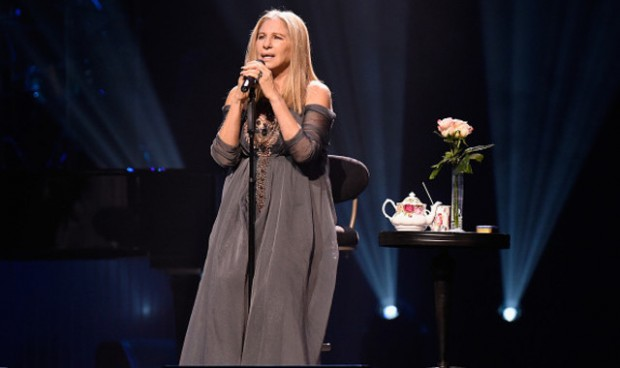 Barbra Streisand performs onstage during Barbra - The Music... The Mem'ries... The Magic! Tour at Barclays Center of Brooklyn on August 13, 2016 in New York, New York.