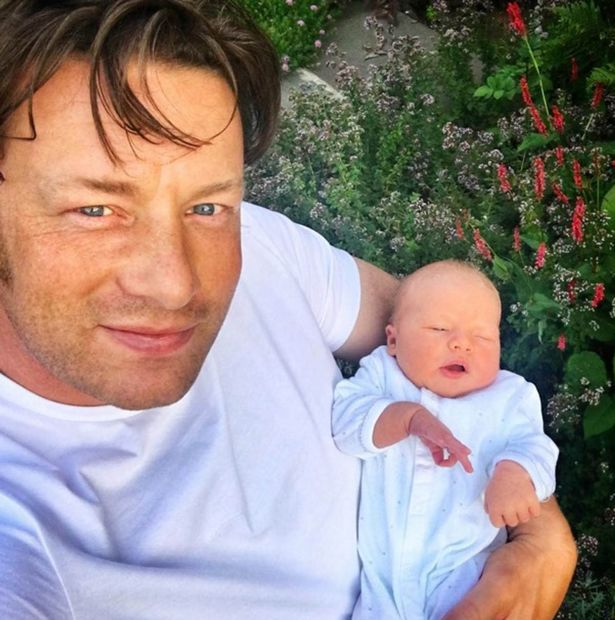 Jamie-Oliver-and-new-son