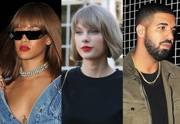 rihanna-sends-taylor-swift-a-waning-after-pop-dive-spent-her-night-partying-wit-h-drake