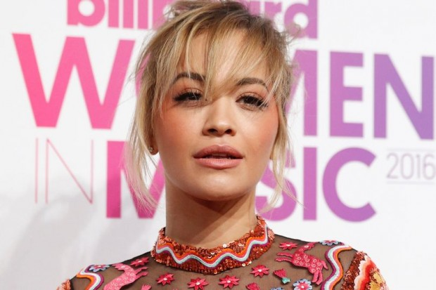 Rita-Ora-poses-on-the-red-carpet-a-the-Billboard-Magazines-11th-annual-Women-in-Music-luncheon-in-N