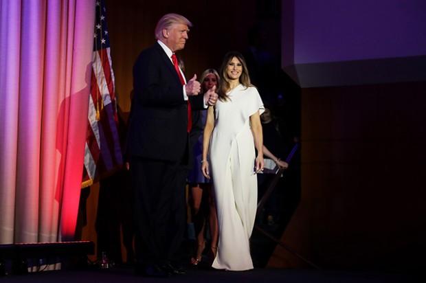 Мелания Трамп в наряде от Ральфа Лорена