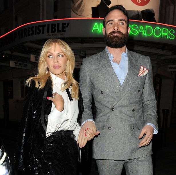 Kylie-Minogue-Joshua-Sasse-Celebrities-are-spotted-as-they-leave-The-Ivy-after-Kylie-Minogue-performed-an-acoustic-VIP