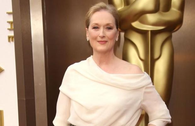 Meryl Streep at the 2014 Oscars ceremony