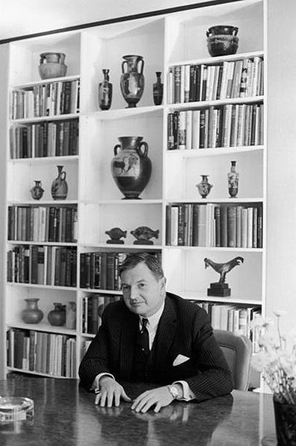 Portrait Of David Rockefeller