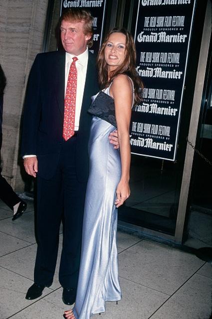Trump & Knauss At NY Film Festival