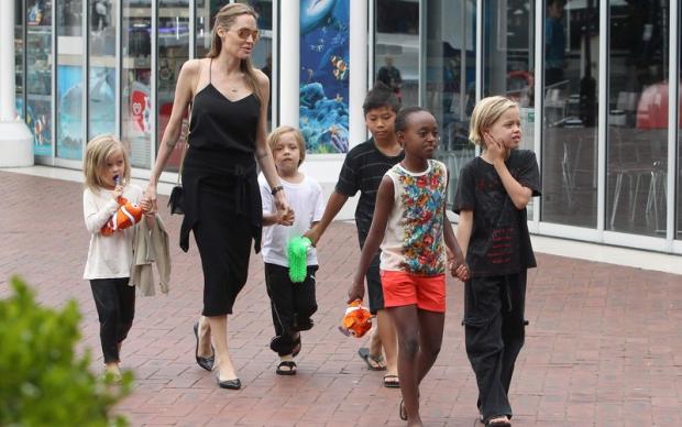 Анджелина Джоли напугала соседей переездом - 1