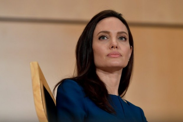 UNHCR Special Envoy Angelina Jolie Speaks At Annual lecture of the Sergio Vieira De Mello Foundation