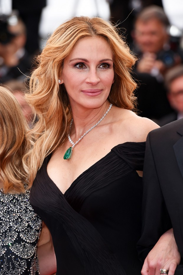 Mandatory Credit: Photo by David Fisher/REX/Shutterstock (5682983by) Julia Roberts 'Money Monster' premiere, 69th Cannes Film Festival, France - 12 May 2016