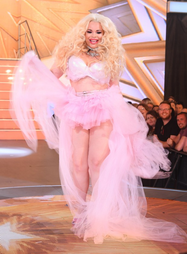 Mandatory Credit: Photo by David Fisher/REX/Shutterstock (8979552bp) Trisha Paytas Celebrity Big Brother Launch, Elstree Studios, London, UK - 01 Aug 2017