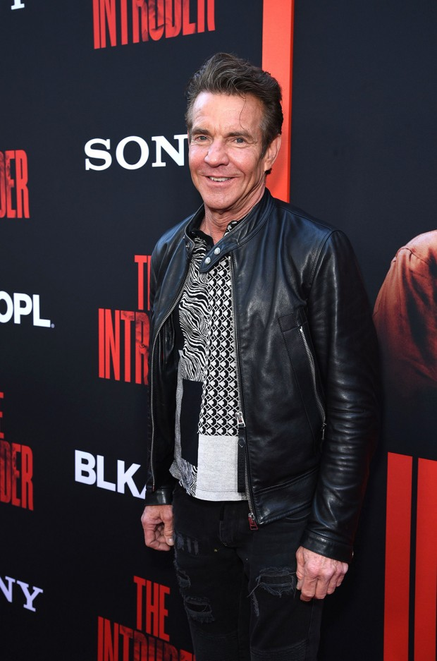 Mandatory Credit: Photo by Stewart Cook/Shutterstock (10225971u) Dennis Quaid 'The Intruder' film premiere, Arrivals, ArcLight Cinemas, Los Angeles, USA - 01 May 2019
