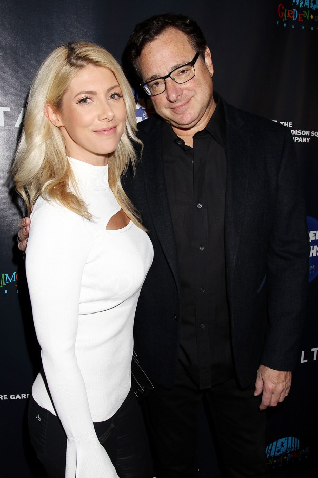 Mandatory Credit: Photo by Dave Allocca/Starpix/REX/Shutterstock (8557167ae) Kelly Rizzo and Bob Saget Red Carpet Arrivals For the Garden of Laughs Comedy Benefit, New York, USA - 28 Mar 2017