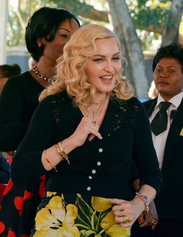 Madonna, Blantyre, Malawi - 11 Jul 2017