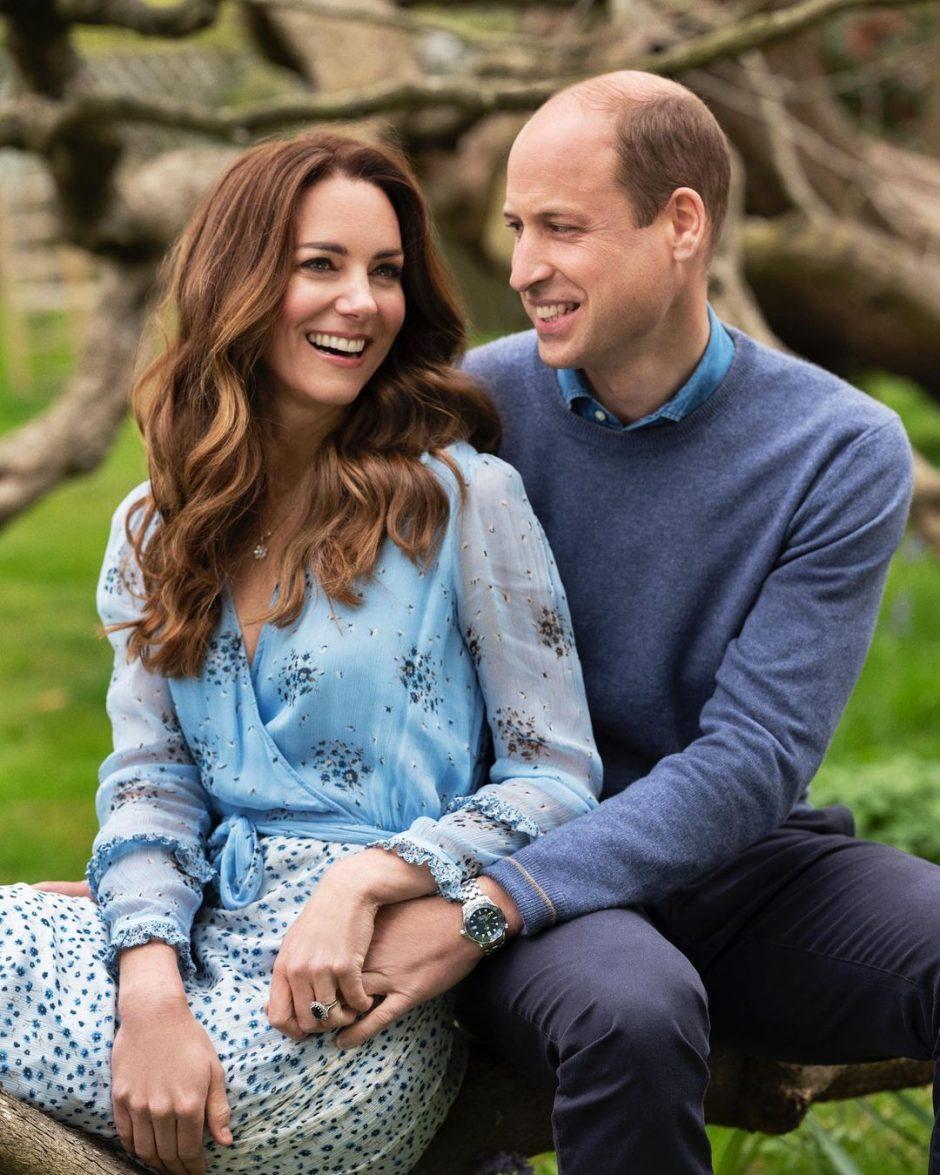10-я годовщина свадьбы Принца Уильяма и Кейт Миддлтон - 1